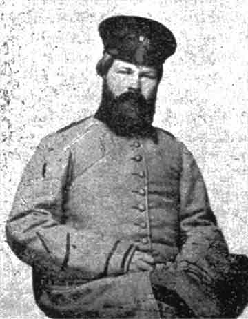 picture of Cyrus McNeill in Confederate uniform