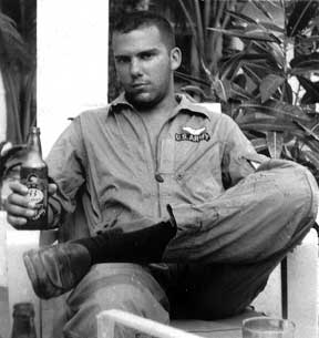 Picture of Jay Edgerton in Vietnam in 1964